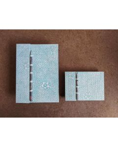 Recycled paper notebook set